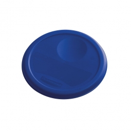 Deckel für runde Lebensmittel-Behälter Inhalt 3,8 Liter, blau