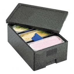Thermobox für 3 Eisbehälter LxBxH 600 x 400 x 260 mm, aus EPP