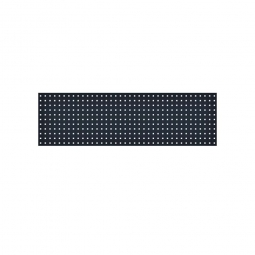 System-Lochplatte, BxH 1500x450 mm, Aus 1,25 mm Stahlblech, kunststoffbeschichtet in anthrazitgrau