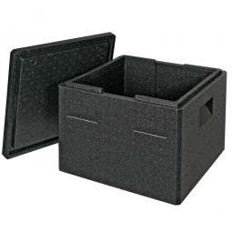 Thermobox mit Deckel, 32 Liter, LxBxH 410 x 410 x 330 mm