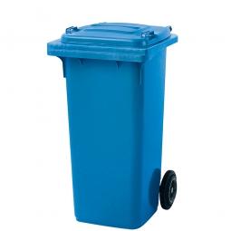Müllbehälter, 120 Liter, blau, BxTxH 480 x 550 x 930 mm, Polyethylen (PE-HD)