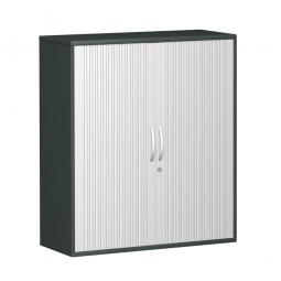 Querrollladenschrank PRO 3 Ordnerhöhen, graphit, BxHxT 1000x1152x425 mm