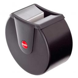 Wandascher, 1,5 L, schwarz, ØxT 160x110 mm