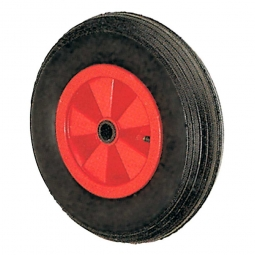 Luftrad mit Rillenprofil, Rad-ØxB 200x50 mm, Tragkraft 75 kg, schwarz