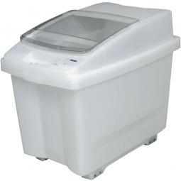 Zutatenbehälter / Zutatencontainer, 100 Liter, BxTxH 465 x 705 x 580 mm, fahrbar, weiß