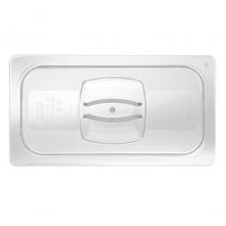 Auflagedeckel für Schale GN2/4, LxB 530x162 mm, Polycarbonat, glasklar