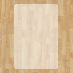 Bodenschutzmatten für harte, glatte Bodenbeläge, BxT 1200x1800 mm