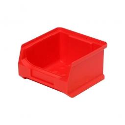 Sichtbox PROFI LB6, rot, Inhalt 0,3 Liter, LxBxH 100x100x60 mm, innen 75x85x55 mm.
