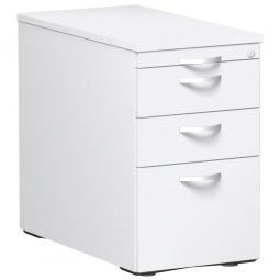 Standcontainer, 4 Schubladen, weiß, BxTxH 438x800x720 mm