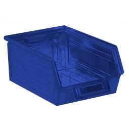 Sichtbox SB 6 aus Stahlblech, 8,5 Liter, LxBxH 350/300 x 200 x 145 mm, blau