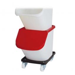 Transportroller für Sortierboxen, BxTxH 480 x 370 x 130 mm