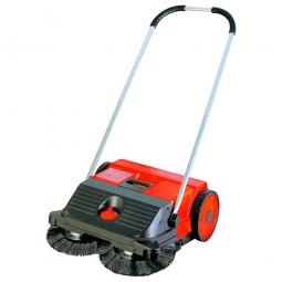 Hand-Kehrmaschine, Kehrbreite 550 mm, Volumen 25 Liter, Kehrleistung ca. 1600 m²/h, Gewicht 6 kg