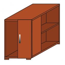 Anstellcontainer, Kirsche, BxTxH 550 x 800 x 720 mm
