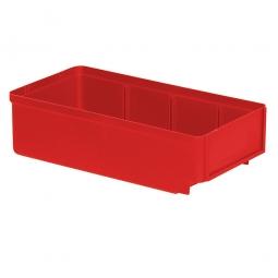 Regalkasten, rot, LxBxH 300x152x83 mm, Polystyrol-Kunststoff (PS), Gewicht 195 g