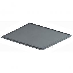 Auflagedeckel für Euro-Stapelbehälter, LxB 400x300 mm, grau