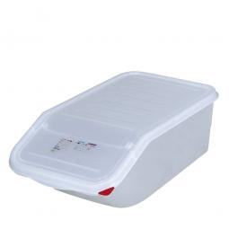 Zutatenbehälter, 23 Liter, BxTxH 340 x 565 x 200 mm, weiß