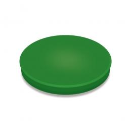 Haftmagnete, grün, Durchmesser 30 mm, Haftkraft 800 g, Paket=10 Magnete