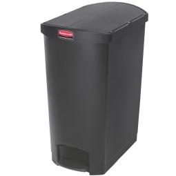 Tretabfalleimer Slim Jim, 90 Liter, schwarz, LxBxH 638 x 404 x 814 mm