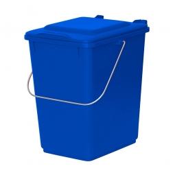 Vorsortierbehälter Inhalt 10 Liter, blau, HxBxT 310x225x275 mm, Polyethylen-Kunststoff (PE-HD)