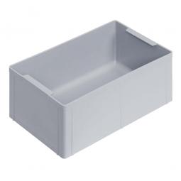 Einsatzkasten für Stapelbehälter 600x400 mm, LxBxH 274 x 174 x 110 mm, Farbe grau