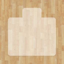 Bodenschutzmatten für harte, glatte Bodenbeläge, BxT 1200x1300 mm, VAB®-Antirutschfolie