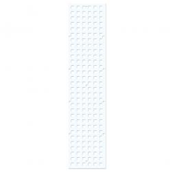 Wandschiene, weiß, LxB 800x140 mm, 16 mm stark, ohne Befestigungsmaterial