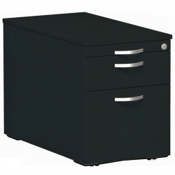 Rollcontainer, 3 Stahlschubladen, graphit, BxTxH 438 x 800 x 565 mm