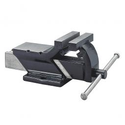 Ganzstahl-Schraubstock, Backenbreite 75 mm, Spannweite 75 mm, Spanntiefe 45 mm, Gewicht 2,7 kg