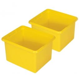 2 Ordnungsboxen, Inhalt 28 Liter