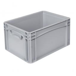 Eurobehälter -Profi- mit 2 Griffleisten, LxBxH 400 x 300 x 220 mm, 20 Liter, grau