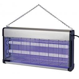 Insektenvernichter, 2x 20 Watt, 220 V, HxBxT 310 x 630 x 90 mm, Wirkungsbereich bis 150 m²