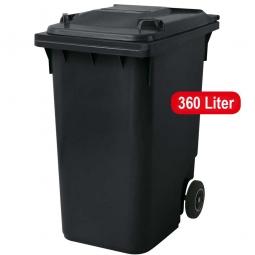 Streugutbehälter, Inhalt: 360 Liter, anthrazitgrau, HxBxT 1100 x 600 x 875 mm, Gewicht: 23 kg