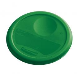 Deckel für runde Lebensmittel-Behälter Inhalt 5,7 und 7,5 Liter, grün, mit Dichtlippen