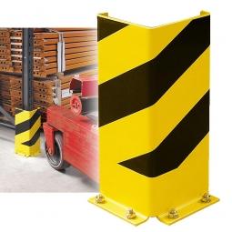 Anfahrschutz, 400 mm hoch, Schenkelbreite 160 mm, als Schutz für Regalrahmen