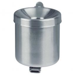 Sicherheits-Wandascher, Inhalt 0,6 Liter, ØxH 90x100 mm, Edelstahl