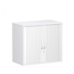 Rollladenschrank FLEX, 2OH, weiß, BxTxH 800x425x720 mm