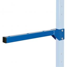 Kragarm für Regal, Länge 400 mm, blau