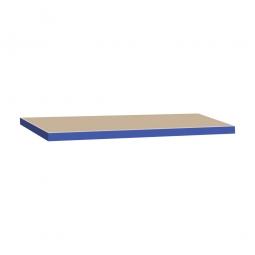 Zusatzebene für Schwerlastregal, blau, Tragkraft 265 kg, BxT 900x400 mm, Nutztiefe 390 mm