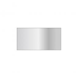 Schraubregal-Fachboden, glanzverzinkt, Tragkraft 250 kg, BxT 1000 x 400 mm, mit Sicherheitskantung