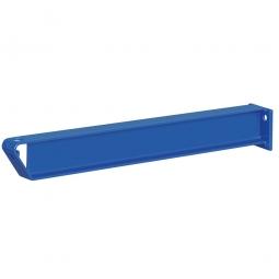 Kragarm, Nutztiefe 850 mm, leichte Ausführung, Oberfläche in enzianblau RAL 5010 kunststoffbeschichtet