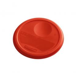 Deckel für runde Lebensmittel-Behälter Inhalt 3,8 Liter, rot