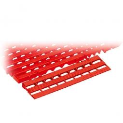 Bodenrost-Auffahrschräge, PE-HD, LxBxH 400x110x25 mm, rot