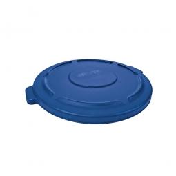 Deckel für runden Brute Container 76 Liter, blau