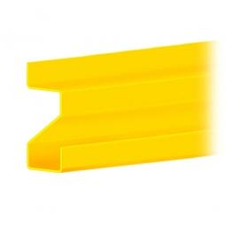 Stufentragbalken für Weitspannregale, Stecksystem, 1500 mm lang, zur Aufnahme von 25 mm Spanplatten
