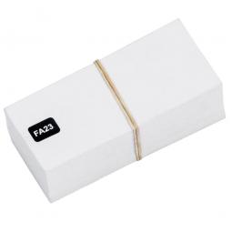 Beschriftungs-Etiketten f. Sichtbox FUTURA FA2/FA3, weiß, VE=100 Stück