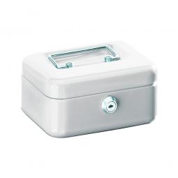 Geldkassette, weiß, BxTxH 200x150x75 mm