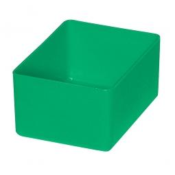 Einsatzkasten für Schubladen, grün, LxBxH 106x80x54 mm, Polystyrol-Kunststoff (PS)