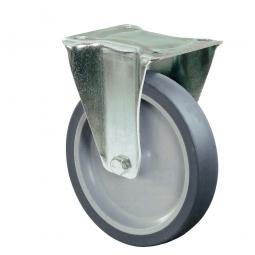 Apparate-Bockrolle, Rad-ØxB 100x28 mm, Tragkraft 60 kg