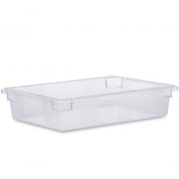 Lebensmittelbehälter, LxBxH 660 x 457 x 152 mm, 32 Liter, glasklar