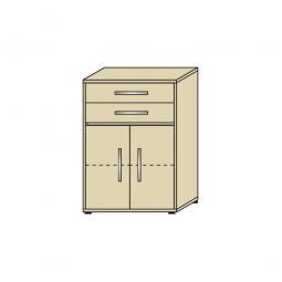 Schrank mit Schubladen, 3 OH, Ahorn, HxBxT 1120x800x420 mm